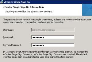 Как сбросить пароль администратора VMware vCenter SSO (admin@System-Domain) и master password.