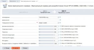 MikroTik на виртуальном сервере с прямым ip-адресом за 97р