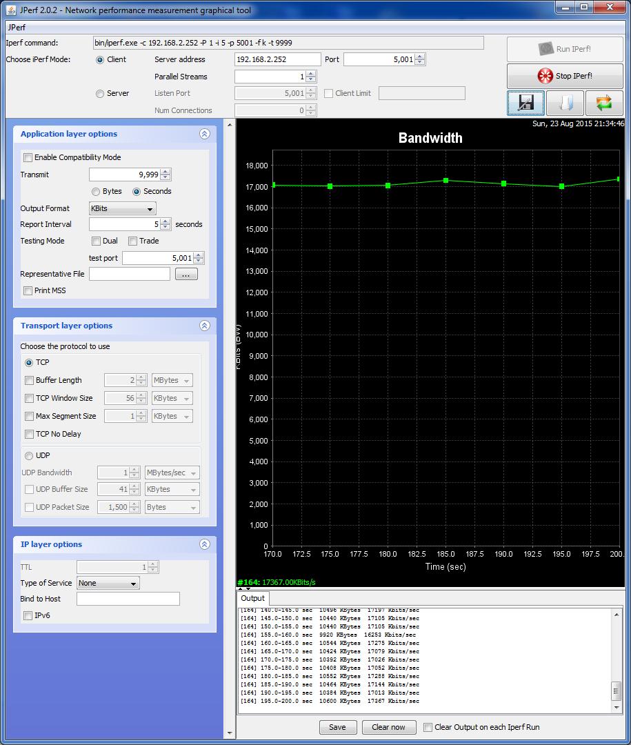 производительность нашего канала между RB2011UiAS-RM и RB941-2n упала до 17 Мбит/сек