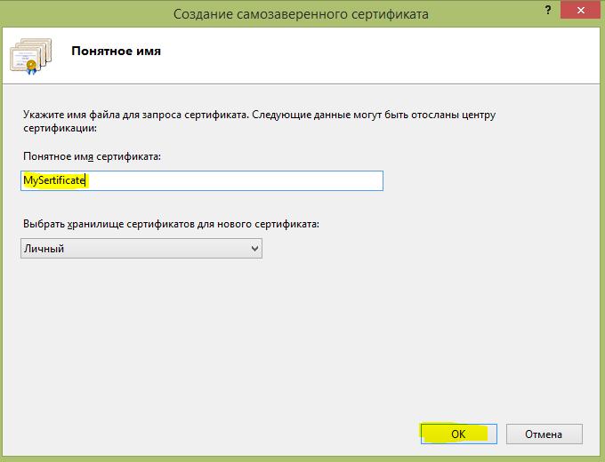 Создать SSL сертификат самостоятельно 5